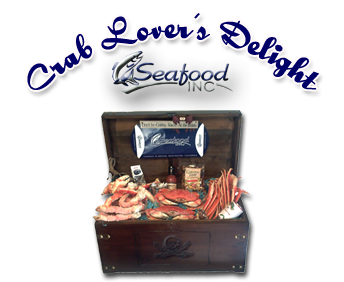 Fresh Crab - Seafood Gift Basket